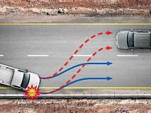 Sistema de frenagem pós-colisão